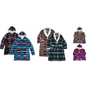 Women's Sherpa Robes and Jackets